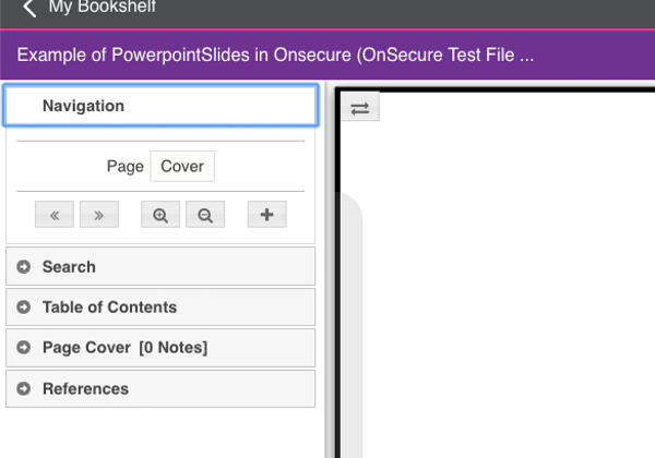 PDI Onsecure content example